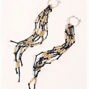 Free People NWT Ashore Beaded Dangle Earrings